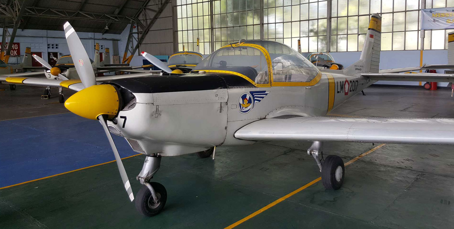 Mengenang Pesawat Latih Dasar AS 202 Bravo